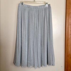 Zara shiny skirt, NWT
